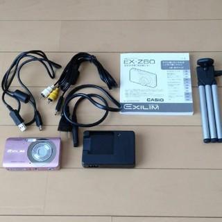 カシオ(CASIO)のカシオ デジカメ EX-Z80 ピンク(コンパクトデジタルカメラ)