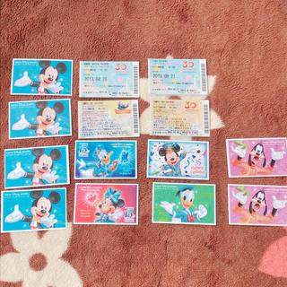 ディズニー(Disney)の【バラ売り可】ディズニーチケット(使用済み)(その他)