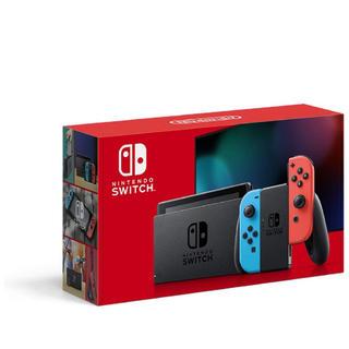 ニンテンドースイッチ(Nintendo Switch)の新品 nintendo switch 本体 新型 ネオン ニンテンドースイッチ(家庭用ゲーム機本体)