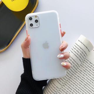 iPhone 11 スマホケース シンプル 半透明 (iPhoneケース)