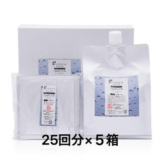 FLOSCA炭酸パック VALUE SIZE(1ヶ月分/約25回分)×5箱 (パック/フェイスマスク)