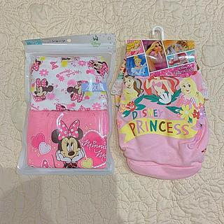 ディズニー(Disney)のパンツ 女の子 95 100 ❤︎ ミニー プリンセス ❤︎ しまむら 西松屋(下着)