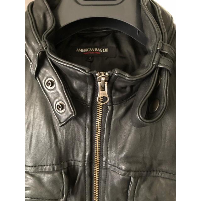 AMERICAN RAG CIE(アメリカンラグシー)のアメリカン ラグ シー レザージャケット メンズのジャケット/アウター(レザージャケット)の商品写真