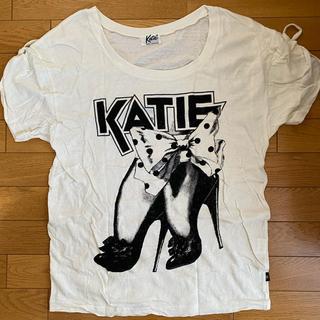 ケイティー(Katie)のKatie ビッグTシャツ(Tシャツ(半袖/袖なし))