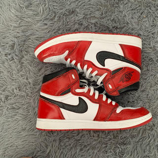 "AIR JORDAN1 ""Chicago custom""(スニーカー)"