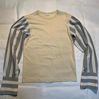 ドリスヴァンノッテン(DRIES VAN NOTEN)のDRIES VAN NOTEN ダブルカフスカットソー(Tシャツ/カットソー(半袖/袖なし))
