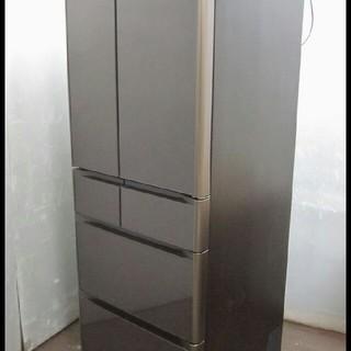 日立 - 19年 日立 6ドア 冷蔵庫 505L ガラスパネル自動製氷