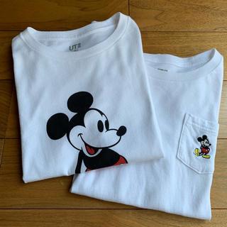 ユニクロ(UNIQLO)のUNIQLOユニクロUT ミッキーTシャツ130cm(Tシャツ/カットソー)