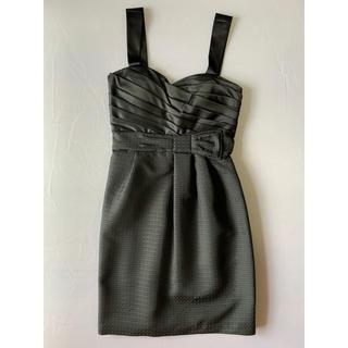 ビーシービージーマックスアズリア(BCBGMAXAZRIA)の黒 ドレス(ミニドレス)