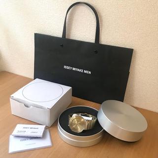 イッセイミヤケ(ISSEY MIYAKE)のISSEY MIYAKE WATCH TO GOLD(腕時計(アナログ))