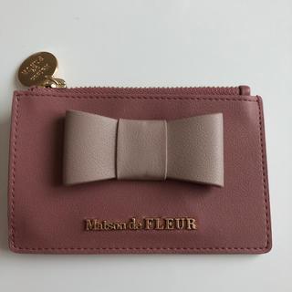 メゾンドフルール(Maison de FLEUR)のパスケース(名刺入れ/定期入れ)