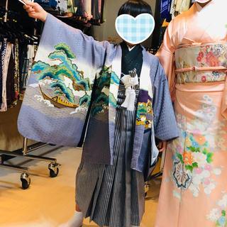 ベショリコ様専用 七五三 袴フルセット 5歳用 中古(和服/着物)