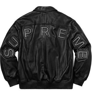 シュプリーム(Supreme)の supreme leather arc jacket S レザージャケット(レザージャケット)