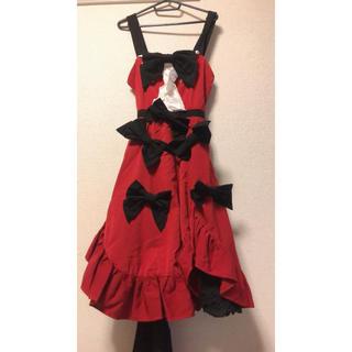 赤のドレス(その他ドレス)