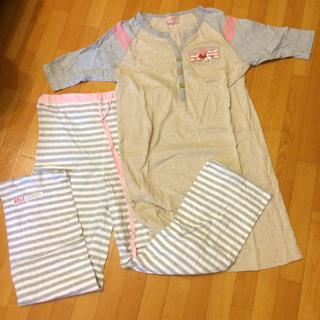 ディズニー(Disney)のミニー 妊婦用パジャマ(マタニティパジャマ)