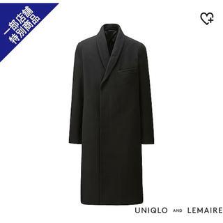 ユニクロ(UNIQLO)のUNIQLO and LEMAIRE  MEN ウールカシミヤコート+E(チェスターコート)