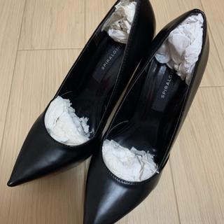 スパイラルガール(SPIRAL GIRL)のSPIRALGIRL スパイラルガール 靴 ハイヒール パンプス 黒 ブラック(ハイヒール/パンプス)