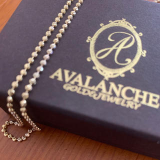 アヴァランチ(AVALANCHE)の【5月値下げ】AVALANCHE 10k ネックレス ボールチェーン(ネックレス)