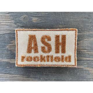 ASHロックフィールド パッチ タンベース 茶文字(個人装備)