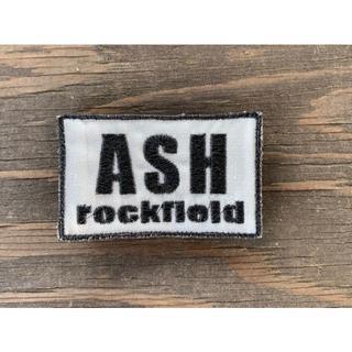 ASHロックフィールド パッチ 白ベース 黒字(スタンダードカラー)(個人装備)