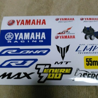 YAMAHA モーターサイクルショーステッカー(モータースポーツ)