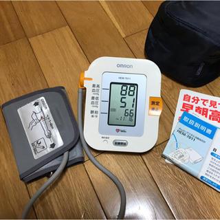 オムロン(OMRON)のオムロン血圧計HEM-7011くまたん様専用(ボディケア/エステ)