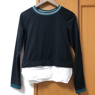 ムルーア(MURUA)のレイヤードシャツ Tシャツ(Tシャツ(長袖/七分))