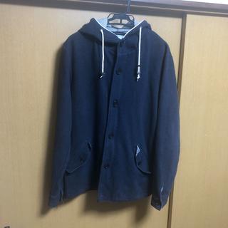 バックナンバー(BACK NUMBER)の[中古品]ネイビーフード付きジャケット[XL](ブルゾン)