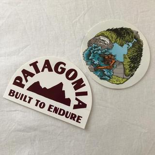 パタゴニア(patagonia)のpatagonia ステッカー2枚(ステッカー)