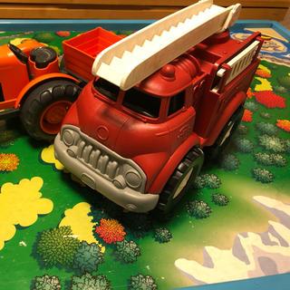 ボーネルンド(BorneLund)のグリーントイズ 消防車 (電車のおもちゃ/車)