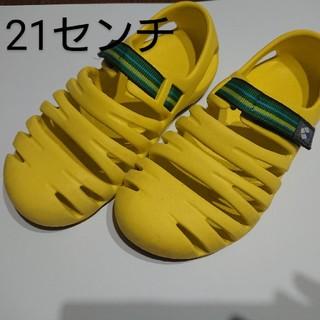 モンベル(mont bell)のmont-bell キャニオンサンダル Kids 21センチ(サンダル)