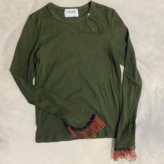 トーガ(TOGA)のNAIFE トップス(Tシャツ(長袖/七分))
