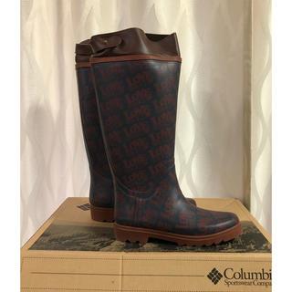 コロンビア(Columbia)の新品!コロンビア columbia×HALEIWAコラボレインブーツ  23cm(レインブーツ/長靴)
