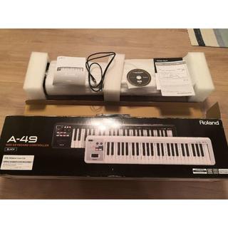 ローランド(Roland)のRoland ローランド MIDIキーボード A-49-BK ブラック(MIDIコントローラー)
