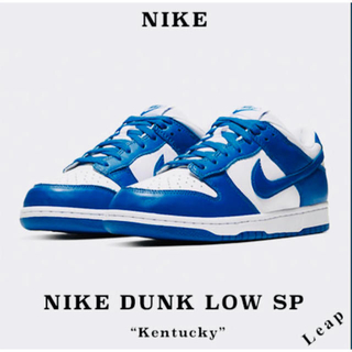"ナイキ(NIKE)の【Nike】人気 NIKE Dunk Low SP ""KENTUCKY""(スニーカー)"