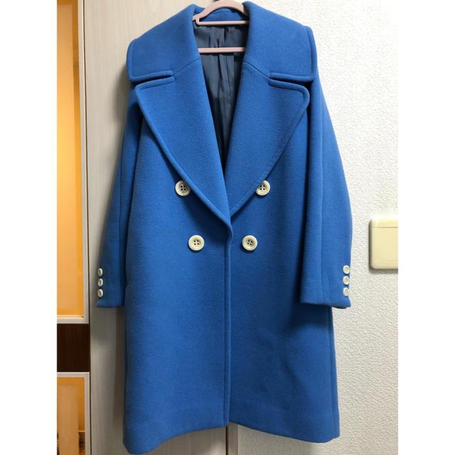 LE CIEL BLEU(ルシェルブルー)のカラーコート レディースのジャケット/アウター(ロングコート)の商品写真