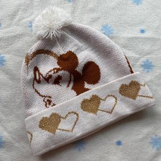 ディズニー(Disney)の【新品】ディズニー帽子 ニット帽(ニット帽/ビーニー)
