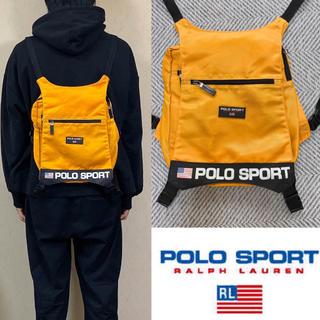 ポロラルフローレン(POLO RALPH LAUREN)の90's  POLO SPORTS ポロスポーツ リュック バックパック(バッグパック/リュック)