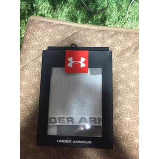 アンダーアーマー(UNDER ARMOUR)のアンダーアーマー タオル 新品 グレー 野球 ジム トレーニング(その他)