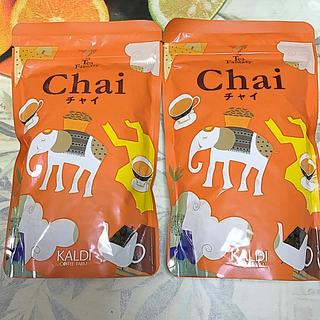 カルディ(KALDI)の濃厚なスパイスミルクティー!! カルディオリジナル  インスタント チャイ 2袋(茶)