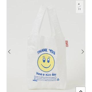 ドゥーズィエムクラス(DEUXIEME CLASSE)の OPEN EDITIONS SMILEY MINI BAG バッグ(エコバッグ)