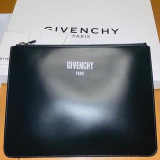 ジバンシィ(GIVENCHY)のGIVENCHY クラッチレザーバッグ(セカンドバッグ/クラッチバッグ)