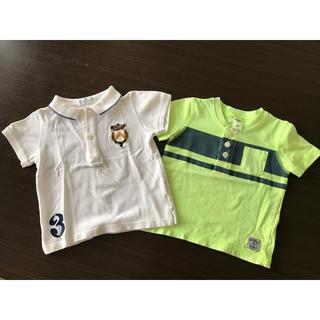 ラルフローレン(Ralph Lauren)の【Ralph Lauren】キッズ ポロシャツ 【オシュコシュ】蛍光Tシャツ(Tシャツ)