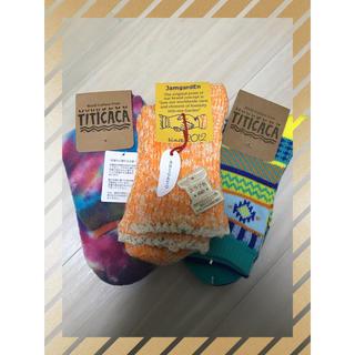 チチカカ(titicaca)のチチカカ【新品】靴下3点セット(ソックス)