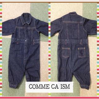 コムサイズム(COMME CA ISM)のコムサ☆デニムつなぎ50〜70(カバーオール)