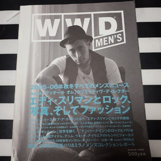 WWD for Japan all about 2005-06 A/W men