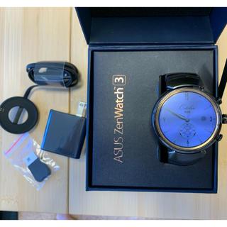 エイスース(ASUS)のZenWatch 3 ASUS ガンメタル スマートウォッチ(腕時計(デジタル))