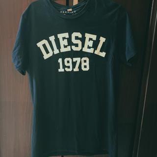 ディーゼル(DIESEL)のDISEL ブラック半袖 L size(Tシャツ/カットソー(半袖/袖なし))