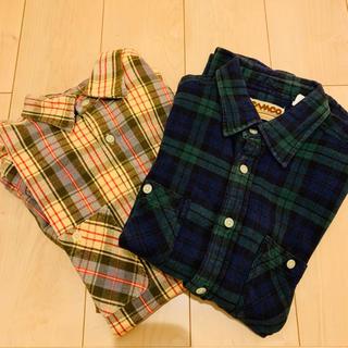 カムコ(camco)のカムコ チェックシャツ 二枚セット(シャツ)