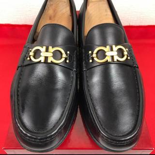 Salvatore Ferragamo - 【超美品】フェラガモ ガンチーニ レザー ローファー 革靴 約26cm EE